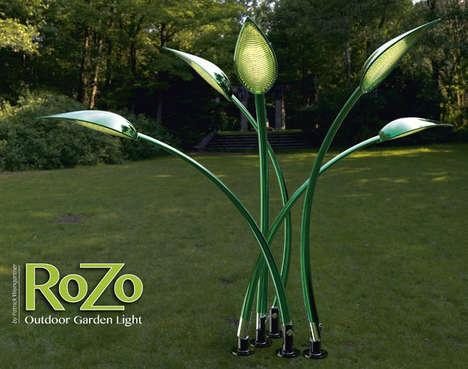 Hi-Tech Leaf-Like Lights
