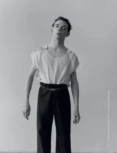 Distressed Menswear Lookbooks