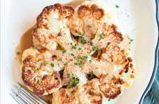 Tea-Infused Cauliflower Steaks - Annelies Zijderveld's Cauliflower Steak Makes Tea a Main Course
