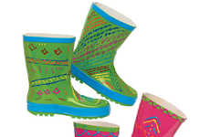 Paintable DIY Rain Boots - These Rubber Boots Are a Perfect Blank Canvas for Young Artists