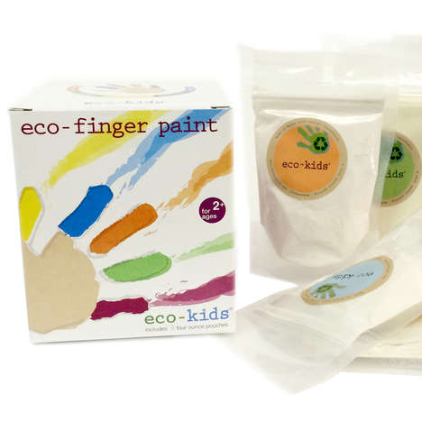 Plant-Based Paint Sets - eco-kids' eco-paint is Made from Natural, Kid-Safe Powders