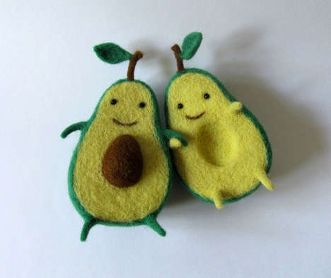Affectionate Fruit Art