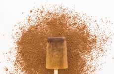 Caffeinated Ice Pops - This Mocha Iced Coffee is a Popsicle for a Refreshing Summer Energy Boost