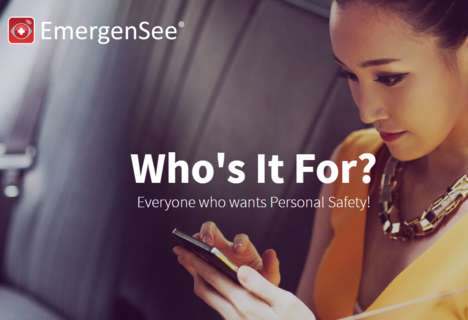 Personal Security Apps - Emergensee Turns Smartphones into Hi-Tech Security Systems