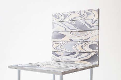 Layered Fabric Furniture