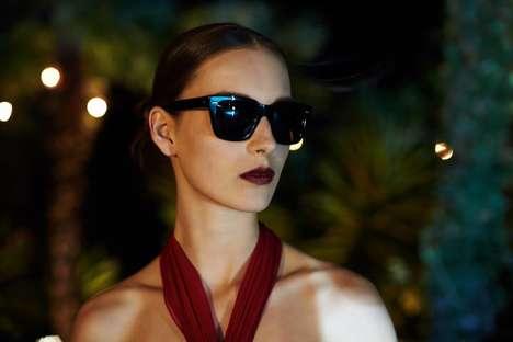 60s-Inspired Eyewear Ads