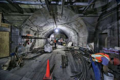 Expanding Subway Snapshots - These Photos Reveal the NYC Second Avenue Subway Close to Completion