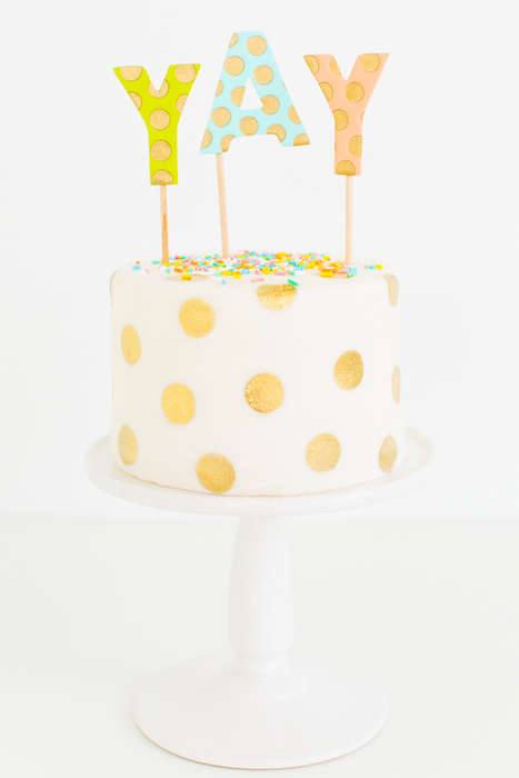 Cheerful Polka Dot Cakes