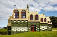 Whimsical Fantasy Homes - Grayson Perry's Latest Architecture Project Celebrates Imagination