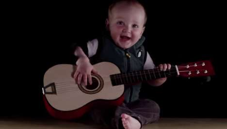 Viral Baby Bands - Eight-month-old Baby Jonah Penna is YouTube's Next Musical Sensation