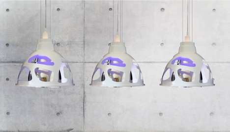 Plant-Inspired Lamps