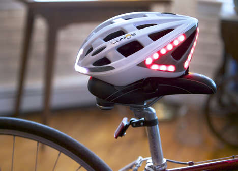 Signaling Bicycle Helmets
