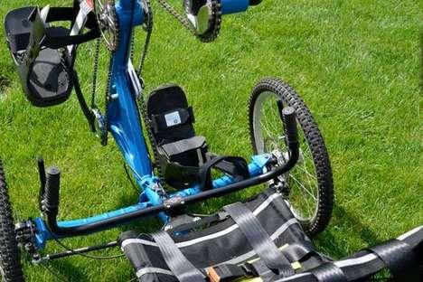 Paraplegic-Friendly Trikes