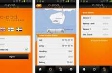 Boat-Safety Apps - The C-pod App Keeps You Afloat On Your Boat's Security