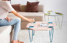Clip-On Furniture Legs - These Handy Clip-On Supports Make Furniture from Found Objects