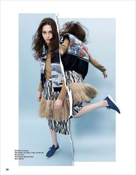 Fragmented Fashion Editorials