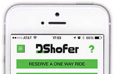 Designated Driver Apps - The 'Dshofer' App Will Help Get You and Your Car Home After a Night Out