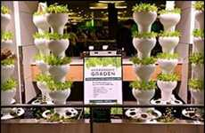 Aeroponic Gardening Experiments - Microsoft is Growing Hydroponic Produce to Address Food Security