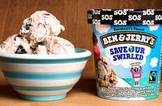 Eco-Friendly Ice Creams - 'Ben & Jerry's' New Ice Cream Flavor Helps Spread Climate Change Awareness