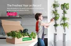 Aeroponic Subscription Services - Windowfarms Delivers Urban Gardening Kits to One's Door