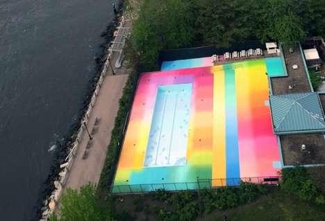 Rainbow Floors