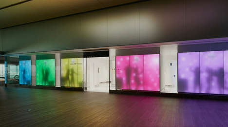 Toilet Design Exhibitions - Tokyo's Narita Airport Features a High-Tech Toilet Exhibition