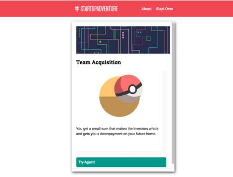 Entrepreneur Simulation Games - StartupAdventure is a Business Game Where You Choose Your Own Path