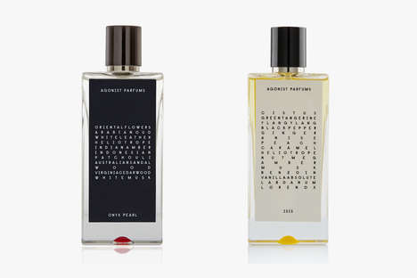 All-Natural Unisex Fragrances - AGONIST Parfums Are Inspired by All Facets of Swedish Culture