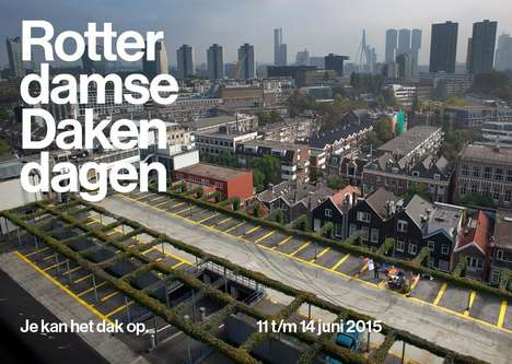 Urban Rooftop Festivals - A New Rotterdam Festival Aims to Make Rooftops Alternative Social Spaces