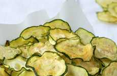 Tangy Vegetable Chip Recipes - This Salt and Vinegar Zucchini Chips Recipe Makes a Healthy Snack