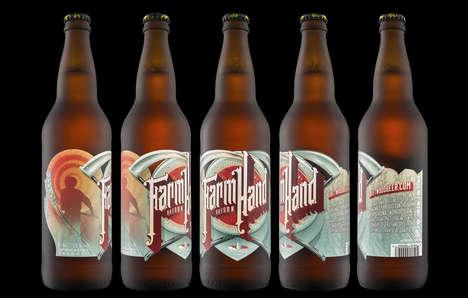 Farmer-Inspired Beer Labels