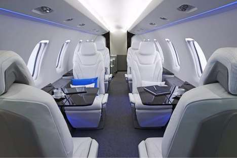 Groundbreaking Business Jets