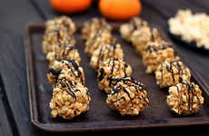 Chocolate Popcorn Balls - These Dairy-Free Popcorn Balls Reinvent Traditional Cinema Snacks