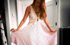 Eco Celebrity Dresses - Blake Lively, Preserve & Amour Vert Create a Sustainable Apparel Collection