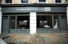 Pop-Up Water Bars - London's H2Only Just Serves Glasses of Tap Water
