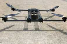 Hydrogen-Powered Drones - The Hycopter Quadcopter Can Fly For Hours At a Time