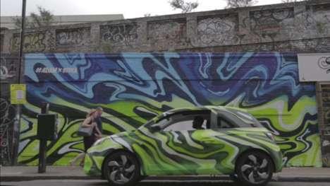 Hybrid Graffiti Murals