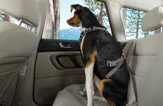 Canine Car Harnesses - The Ruff Wear 'Load Up Harness' is a Seat Belt Made for Man's Best Friend