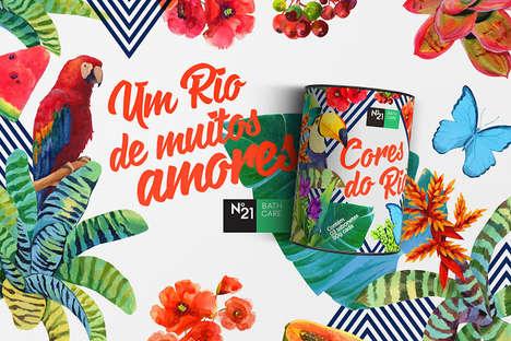 Tropical Soap Branding