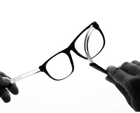 Memory-Metal Spectacles