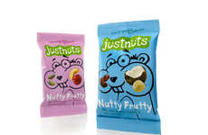 Organic Snack Packs - 'Justnuts' Uses Forest Creatures to Promote its Healthy Natural Flavor