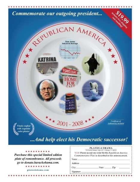 Political Satire Dishes