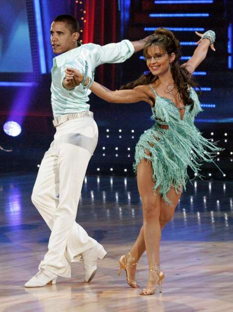 Political Dance Spoofs - Sarah Palin and Obama on Dancing With the Stars