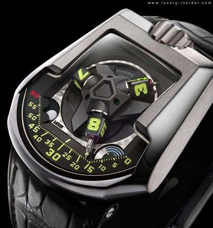 Air-Powered Watches