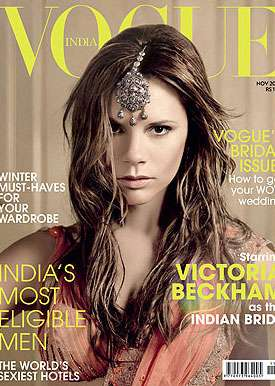Posh Princess Pictorials - Victoria Beckham for Vogue India