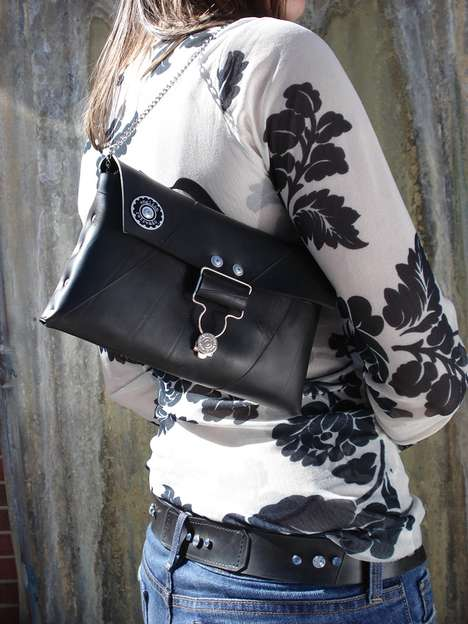 Vintage Recycled Rubber Bags