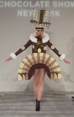 Edible Clothes - Fashion Made of Chocolate