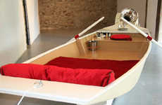 Rowboat-Inspired Beds - The 'Pleasurecraft'