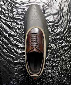 Guys' Shoes for a Rainy Day