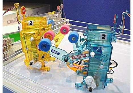 DIY Fighting Robots
